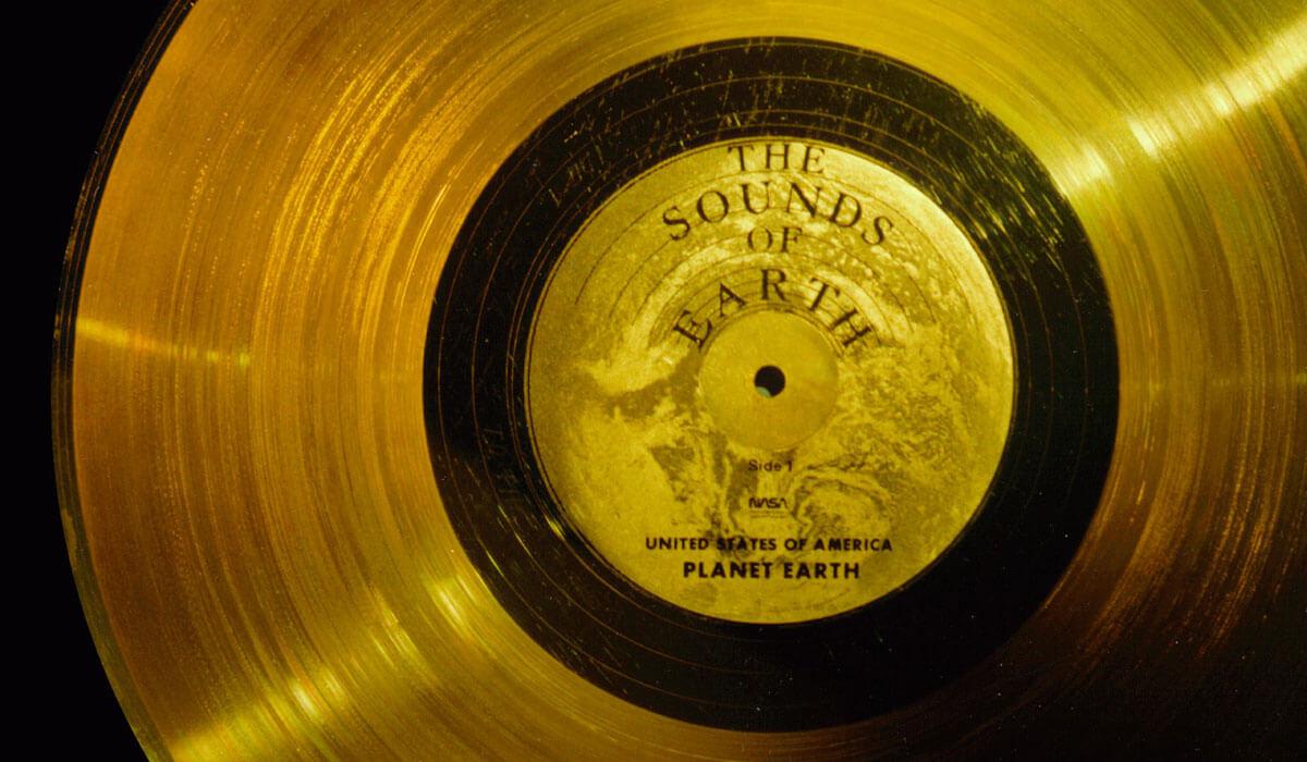 40ème anniversaire du programme Voyager avec leur Golden Voyager Record