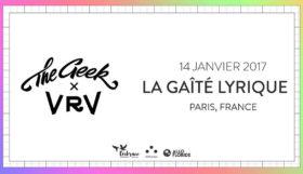 Concours 2 x 2 places pour voir The Geek x Vrv à la Gaîté Lyrique