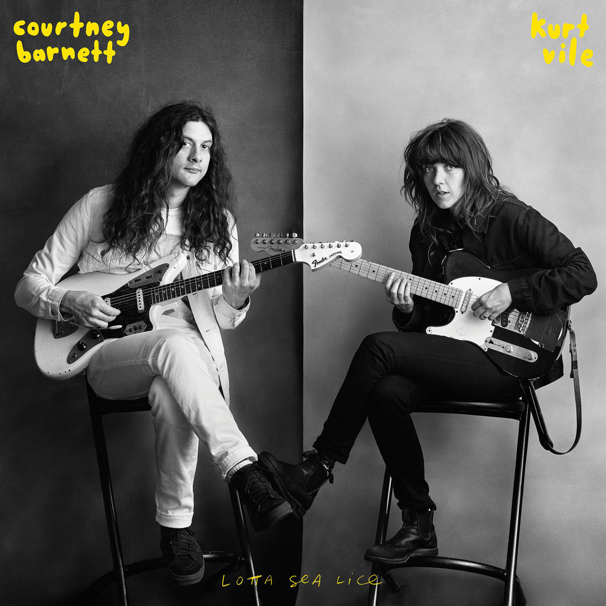 Album Lotta Sea Lice de Courtney Barnett & Kurt Vile