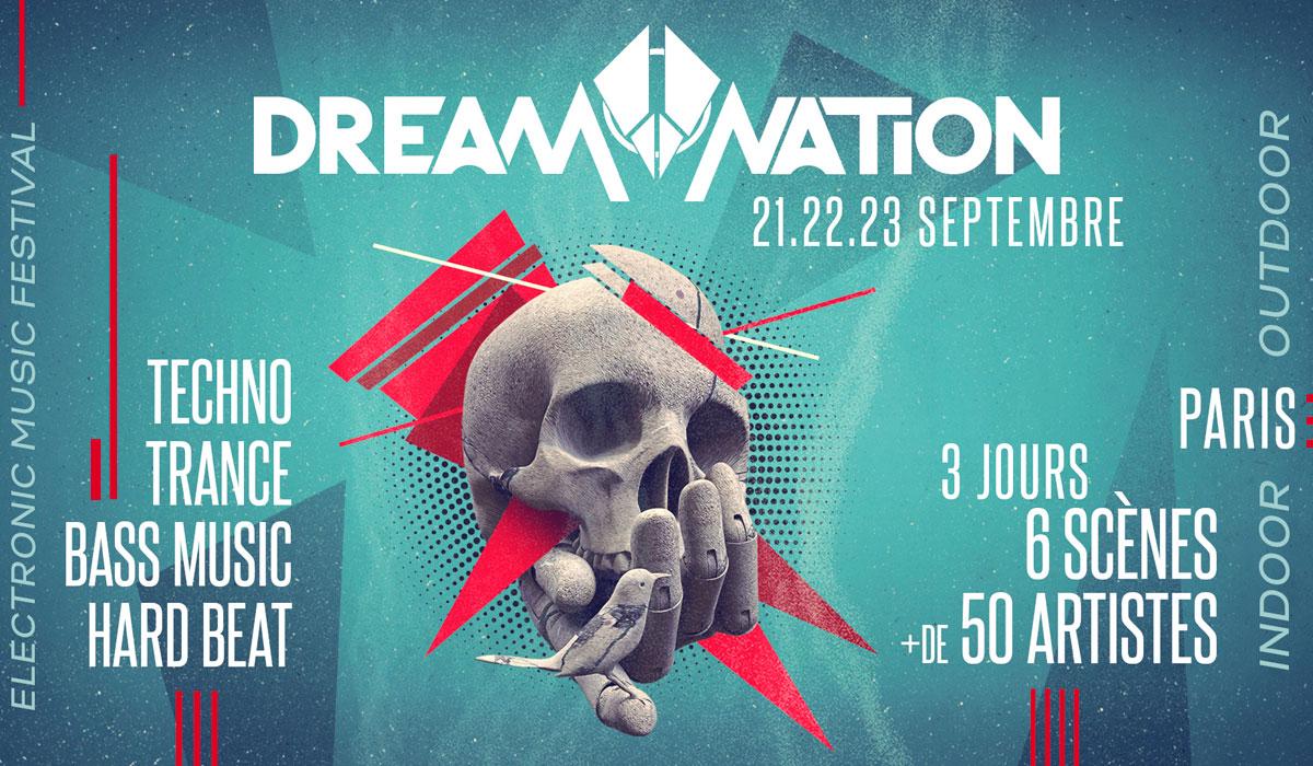 Dream Nation Festival les 21, 22 et 23 septembre à Paris