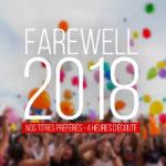 La rétrospective 2018